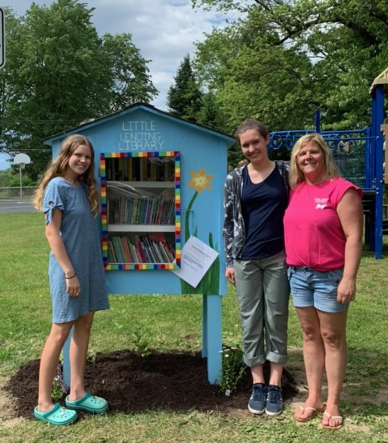 Little Lending Library Ceremony
